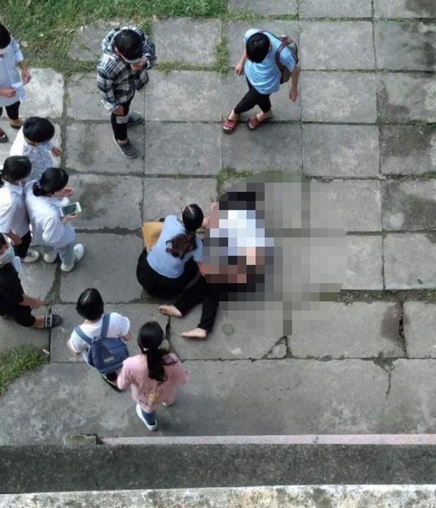Thực hư thông tin nữ sinh nhảy từ tầng 3 trường học tự tử vì bị cô giáo bắt tài liệu khi thi - Ảnh 1.