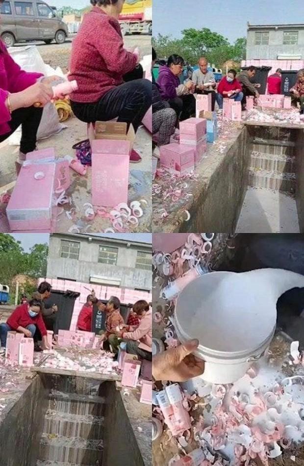 Fan Thanh Xuân Có Bạn gây bức xúc khi thuê người đổ bỏ 270.000 chai sữa xuống cống để lấy phiếu vote cho idol - Ảnh 2.