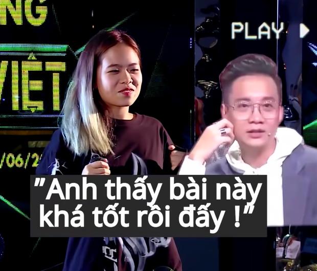 Hé lộ clip Tlinh đi cast Rap Việt: Run rẩy đến độ off beat, khán giả hú hét cũng quên lời! - Ảnh 4.