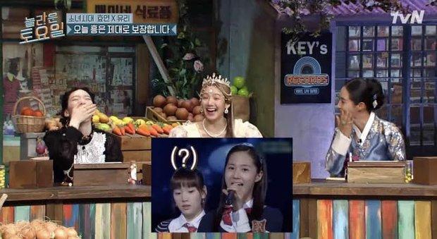 Yuri (SNSD) kể lại khoảnh khắc quên lời huyền thoại cách đây 14 năm, lý giải biểu cảm lồi lõm của Taeyeon - Ảnh 6.