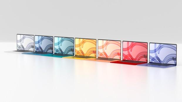 MacBook Air 2021 sẽ có 7 màu sắc giống iMac, nhìn là muốn chốt đơn ngay lập tức! - Ảnh 1.