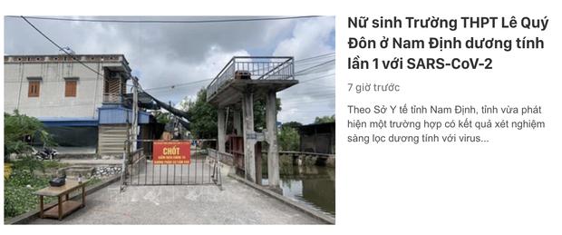Đại sứ cách ly tránh vỏ dưa gặp vỏ dừa: Vũ Khắc Tiệp vừa đăng clip về quê Nam Định, nơi đây ghi nhận ca nhiễm đầu tiên - Ảnh 4.