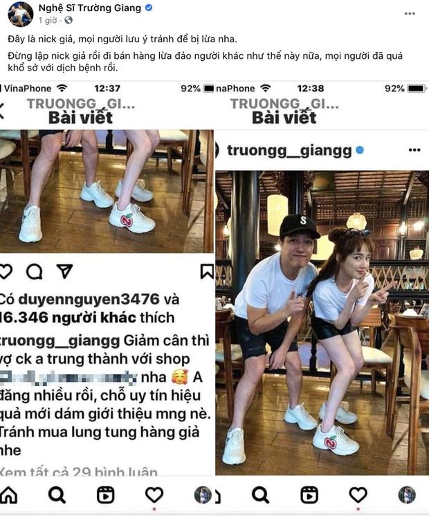Trường Giang bức xúc vì xuất hiện trang Instagram giả mạo, dùng hình ảnh gầy gò của Nhã Phương để quảng bá thuốc giảm cân - Ảnh 2.