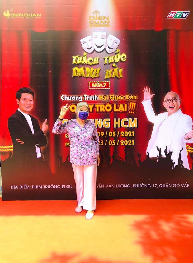 Cô Thiên Thanh - Thánh chửi U80 bất ngờ trở lại tham gia casting lần thứ 3 cho Thách Thức Danh Hài - Ảnh 3.
