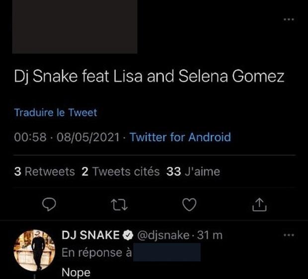 DJ Snake thông báo collab với Lisa và tiết lộ bài hát đã xong xuôi, ngày em út BLACKPINK debut solo gần lắm rồi! - Ảnh 1.