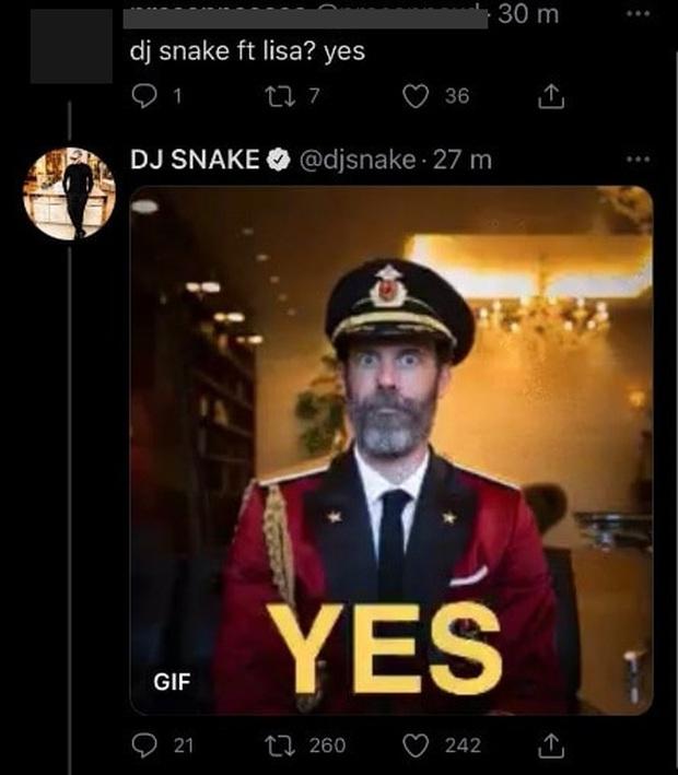 DJ Snake thông báo collab với Lisa và tiết lộ bài hát đã xong xuôi, ngày em út BLACKPINK debut solo gần lắm rồi! - Ảnh 2.