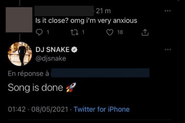DJ Snake thông báo collab với Lisa và tiết lộ bài hát đã xong xuôi, ngày em út BLACKPINK debut solo gần lắm rồi! - Ảnh 3.
