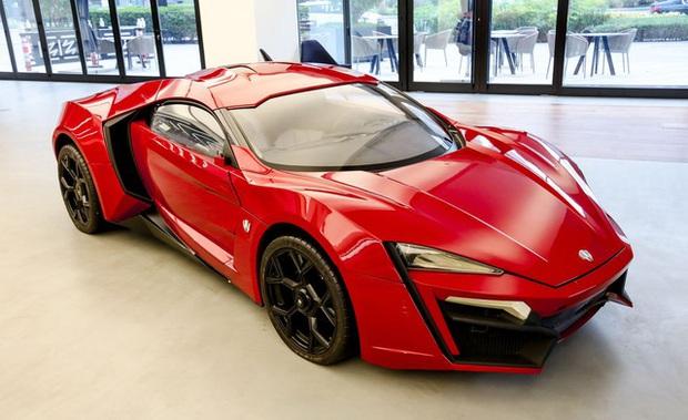 Siêu xe Lykan HyperSport từng đóng phim Fast and Furious 7 chuẩn bị được bán đấu giá - Ảnh 1.