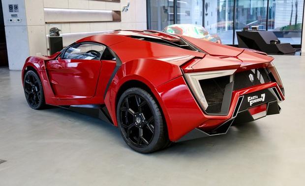 Siêu xe Lykan HyperSport từng đóng phim Fast and Furious 7 chuẩn bị được bán đấu giá - Ảnh 2.