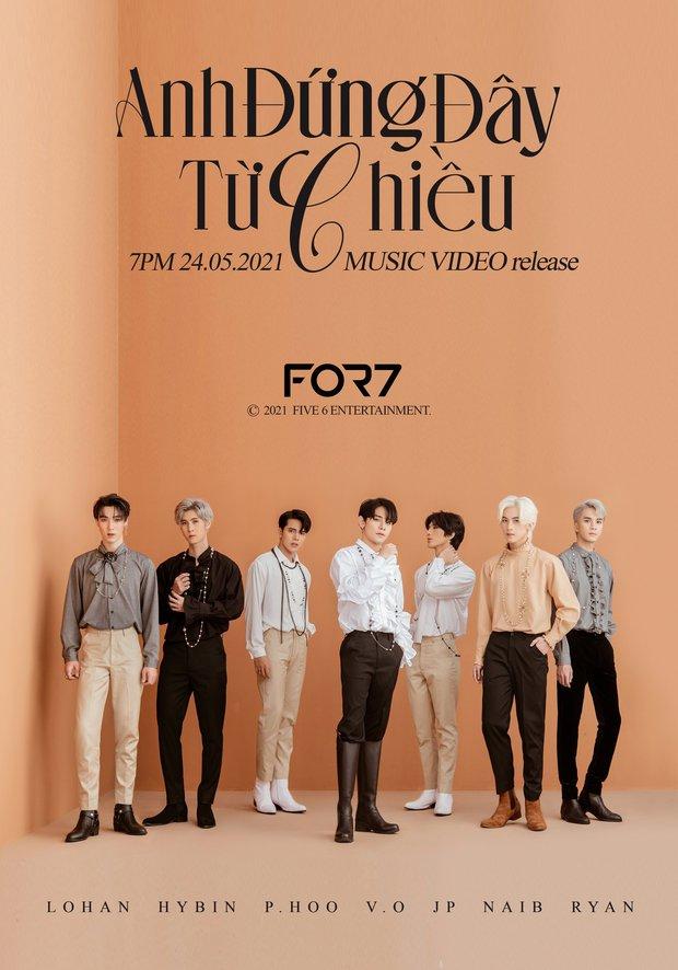 Fan Kpop quốc tế phẫn nộ khi boygroup Việt đạo nhái concept GOT7, poster debut giống y chang! - Ảnh 1.