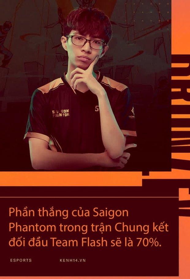 Phỏng vấn độc quyền BronzeV: Saigon Phantom có 70% cơ hội thắng Team Flash - Ảnh 2.