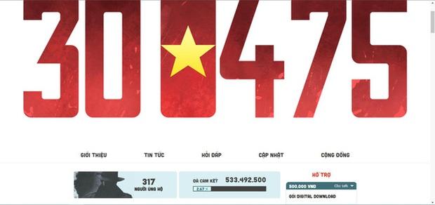 Hơn 300 game thủ quyên tiền cho 300475, trong đó có 4 người ủng hộ tới 50 triệu VNĐ - Ảnh 1.