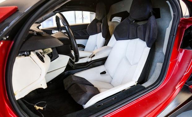 Siêu xe Lykan HyperSport từng đóng phim Fast and Furious 7 chuẩn bị được bán đấu giá - Ảnh 4.