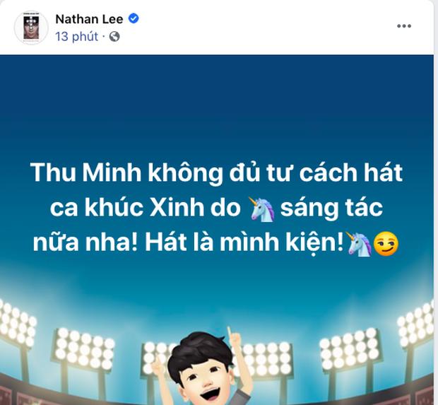 Nathan Lee tuyên bố Thu Minh không đủ tư cách hát ca khúc do mình sáng tác, còn nếu Chi Pu xin sẽ cho luôn! - Ảnh 1.