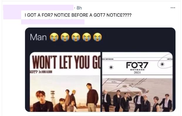 Fan Kpop quốc tế phẫn nộ khi boygroup Việt đạo nhái concept GOT7, poster debut giống y chang! - Ảnh 6.