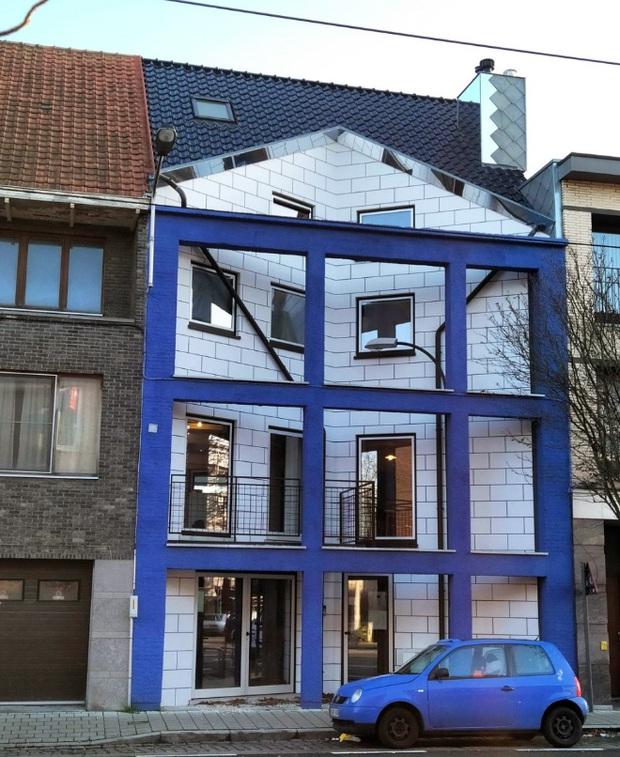19 ngôi nhà xấu nhất nước Bỉ, xem xong mất niềm tin vào kiến trúc sư nước này - Ảnh 12.