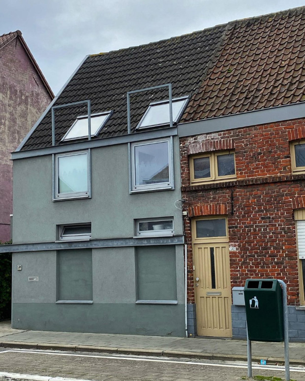 19 ngôi nhà xấu nhất nước Bỉ, xem xong mất niềm tin vào kiến trúc sư nước này - Ảnh 17.