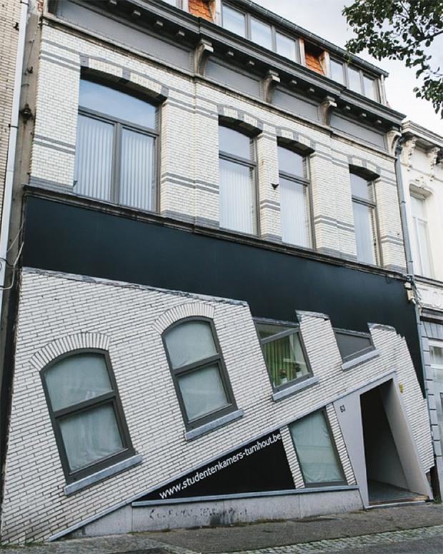 19 ngôi nhà xấu nhất nước Bỉ, xem xong mất niềm tin vào kiến trúc sư nước này - Ảnh 6.
