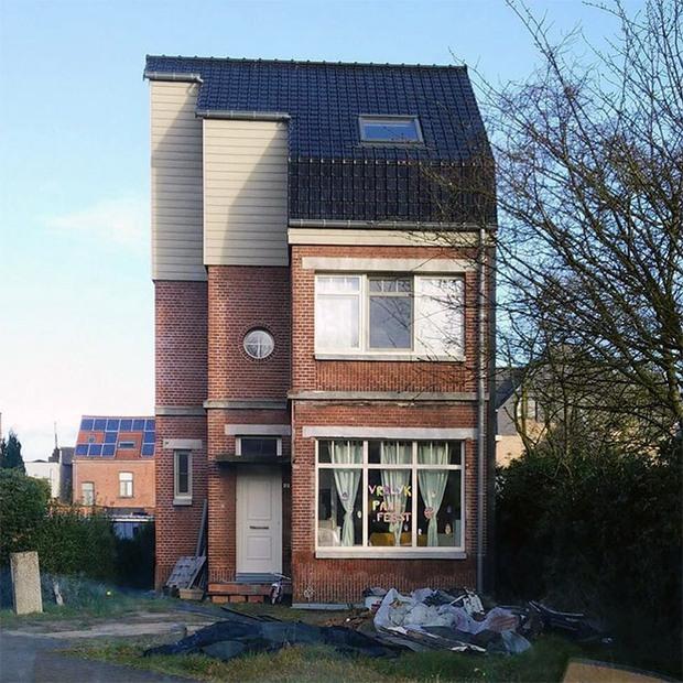 19 ngôi nhà xấu nhất nước Bỉ, xem xong mất niềm tin vào kiến trúc sư nước này - Ảnh 7.