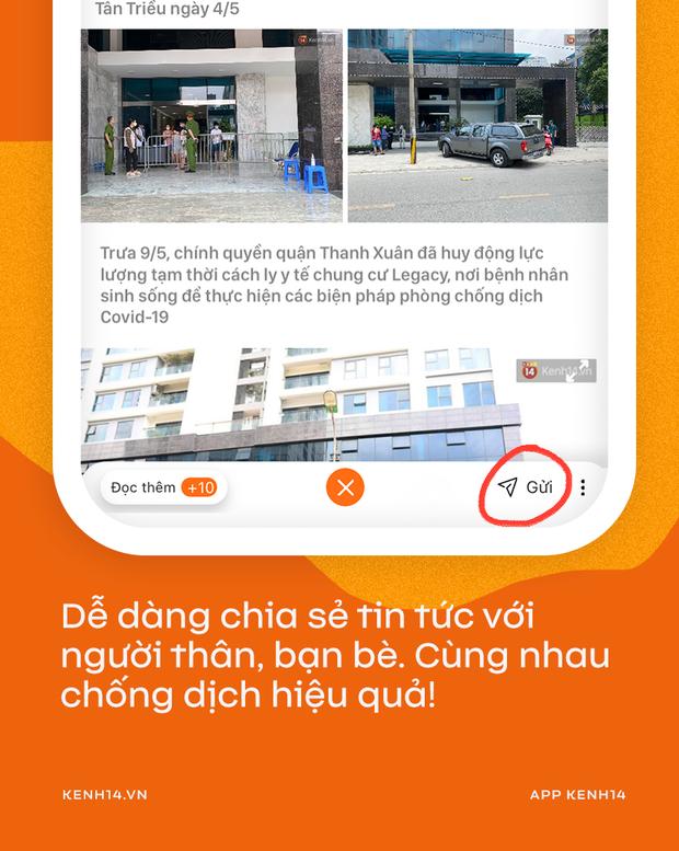 Tin nóng Cô Vy, đọc nhanh từng phút - 1 bước dễ dàng, tải ngay app Kenh14 chờ chi! - Ảnh 9.
