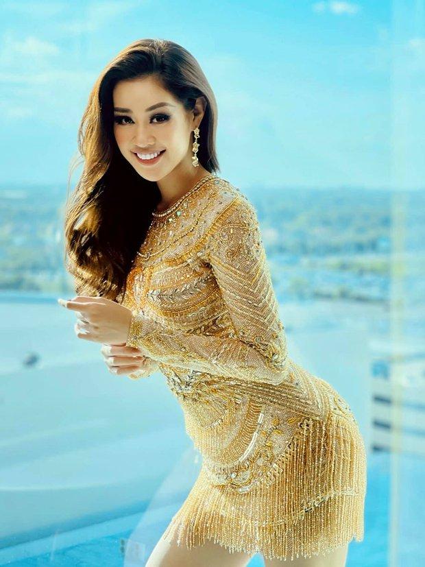 Khánh Vân chặt chém tại Miss Universe 2020 nhờ trang phục ôm sát, khoe đường cong bốc lửa, khiến HHHV Canada phải trầm trồ - Ảnh 4.