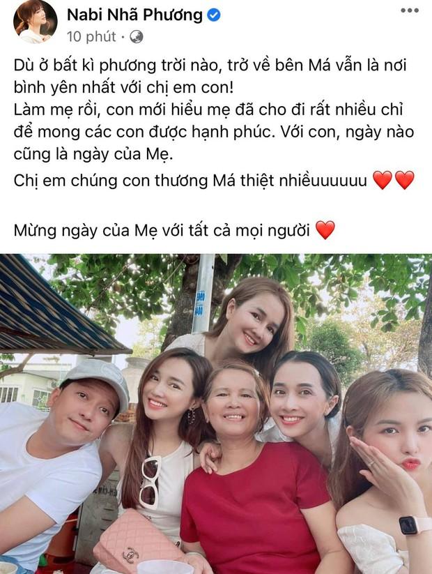 Sao Việt mừng Ngày của Mẹ: Orange bị mẹ khiếu nại, Nhã Phương chia sẻ điều ai cũng thấm thía, nhà Kim Lý chúc đến... 4 người mẹ - Ảnh 3.