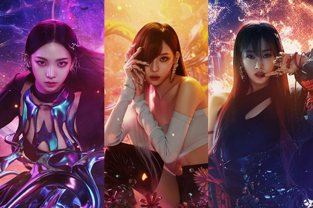 Ảnh teaser của aespa bị so sánh với 2NE1, Knet không ném đá mà bênh: Giống nhau về giới tính và số thành viên chứ gì! - Ảnh 5.