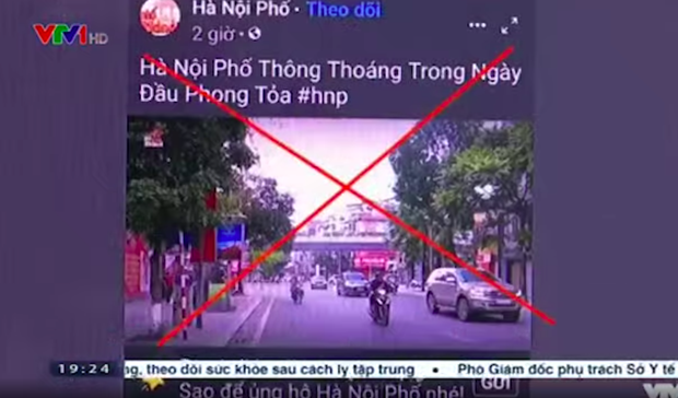 Duy Nến bị VTV phê phán vì tung tin phong toả Hà Nội trong dịch Covid-19, chủ kênh có thể sẽ phải chịu trách nhiệm trước pháp luật - Ảnh 2.