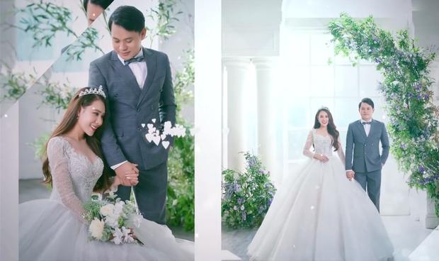 """Ra đây mà xem clip hậu trường ảnh cưới của Hồ Bích Trâm, thái độ thật của chồng hơn 7 tuổi được """"bóc trần"""" rõ luôn - Ảnh 11."""