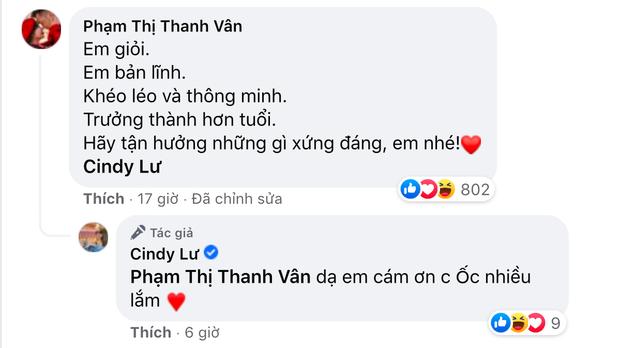 Ốc Thanh Vân gây tranh cãi nảy lửa khi khen vợ cũ Hoài Lâm dưới status xác nhận hẹn hò, Cindy Lư phản hồi ra sao? - Ảnh 2.