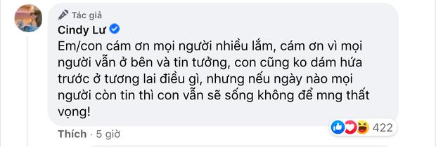 Ốc Thanh Vân gây tranh cãi nảy lửa khi khen vợ cũ Hoài Lâm dưới status xác nhận hẹn hò, Cindy Lư phản hồi ra sao? - Ảnh 3.