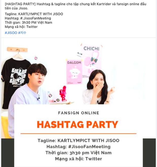 Jisoo (BLACKPINK) đang gây náo loạn Twitter, buổi fan meeting online leo lên top 1 thịnh hành tại Việt Nam - Ảnh 1.
