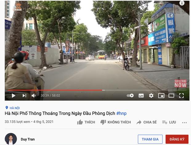 Kênh YouTube Duy Nến (Hà Nội Phố) có động thái gì với clip đưa sai thông tin Hà Nội bị phong toả sau khi bị VTV lên án dữ dội? - Ảnh 4.