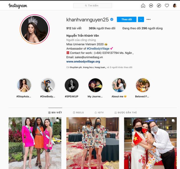 Soi độ khủng của Instagram các hoa hậu tham gia Miss Universe, netizen bất ngờ về thứ hạng của Khánh Vân - Ảnh 3.