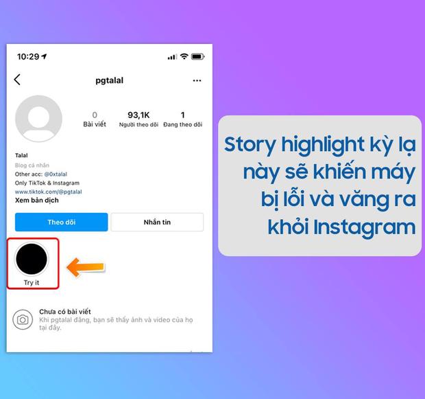 Cộng đồng mạng xôn xao về một story bí ẩn trên Instagram, nhấp vào là iPhone bị văng ngay lập tức, check xem bạn có bị không? - Ảnh 1.