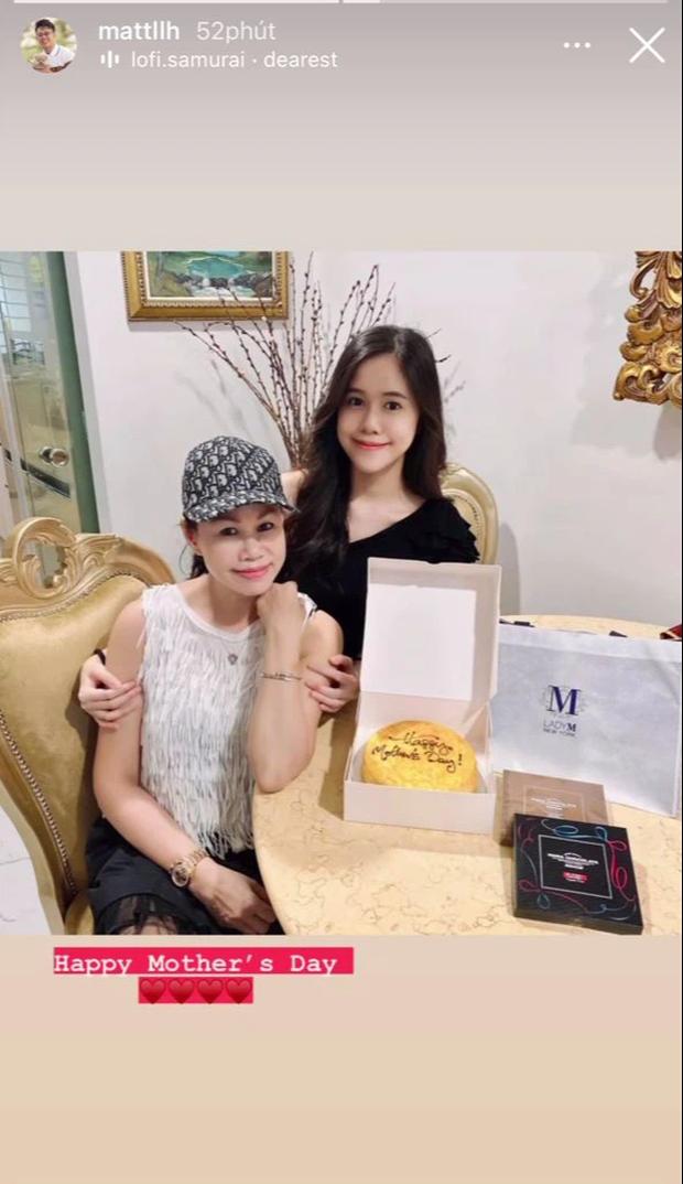 Matt Liu đăng ảnh chúc mừng Ngày của mẹ, mọi sự chú ý đổ dồn vào nhan sắc xinh đẹp của cô em gái - Ảnh 1.