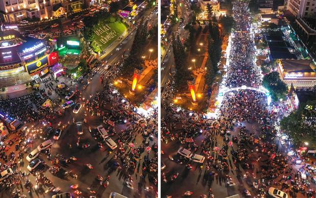 CHƯA TỪNG THẤY: Quảng trường Đà Lạt vắng không có có bóng người vào đêm cuối tuần sau cơn bão du lịch 30/4 - 1/5 - Ảnh 3.