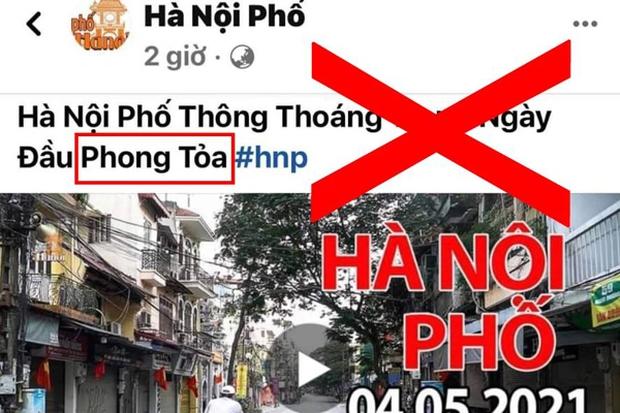 Kênh YouTube Duy Nến (Hà Nội Phố) có động thái gì với clip đưa sai thông tin Hà Nội bị phong toả sau khi bị VTV lên án dữ dội? - Ảnh 1.