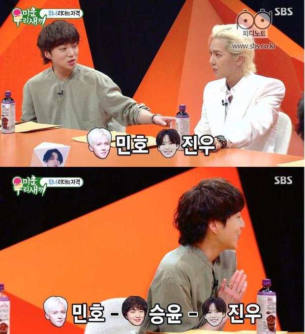 Trưởng nhóm Kang Seung Yoon (WINNER) luôn dùng chiêu khóc nhè mỗi khi các thành viên đánh nhau! - Ảnh 1.