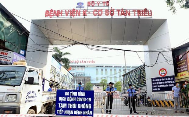 Hà Nội thêm 1 trường hợp dương tính SARS-CoV-2 ở BV K Tân Triều, là học sinh chẩn đoán bị ung thư - Ảnh 1.