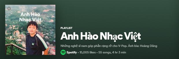 Lên ngay Spotify tìm playlist của dàn nghệ sĩ Vpop: Hoàng Thùy Linh, Bích Phương, Binz, AMEE,... đều bị đổi thành ai lạ hoắc thế này? - Ảnh 6.