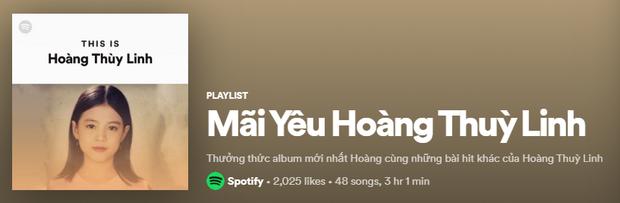 Lên ngay Spotify tìm playlist của dàn nghệ sĩ Vpop: Hoàng Thùy Linh, Bích Phương, Binz, AMEE,... đều bị đổi thành ai lạ hoắc thế này? - Ảnh 18.