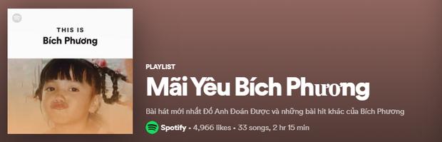 Lên ngay Spotify tìm playlist của dàn nghệ sĩ Vpop: Hoàng Thùy Linh, Bích Phương, Binz, AMEE,... đều bị đổi thành ai lạ hoắc thế này? - Ảnh 16.