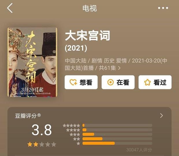 Phim của Triệu Lệ Dĩnh, Địch Lệ Nhiệt Ba cùng gần chục dự án cổ trang xứ Trung có xếp hạng lẹt đẹt - Ảnh 1.