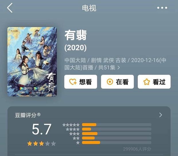 Phim của Triệu Lệ Dĩnh, Địch Lệ Nhiệt Ba cùng gần chục dự án cổ trang xứ Trung có xếp hạng lẹt đẹt - Ảnh 6.