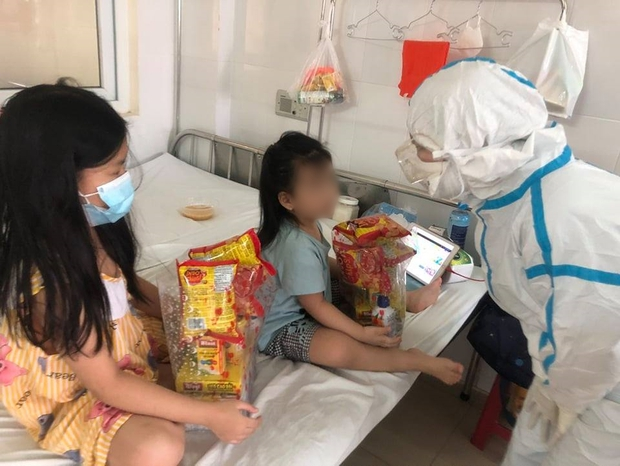 Ngày Quốc tế Thiếu nhi đặc biệt của các cháu bé mắc Covid-19 ở Đà Nẵng - Ảnh 5.