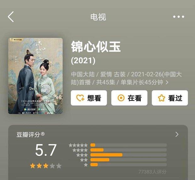 Phim của Triệu Lệ Dĩnh, Địch Lệ Nhiệt Ba cùng gần chục dự án cổ trang xứ Trung có xếp hạng lẹt đẹt - Ảnh 5.