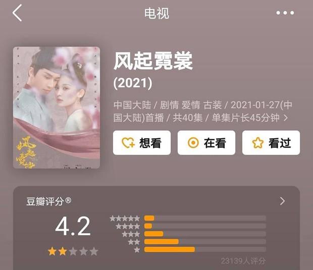 Phim của Triệu Lệ Dĩnh, Địch Lệ Nhiệt Ba cùng gần chục dự án cổ trang xứ Trung có xếp hạng lẹt đẹt - Ảnh 2.