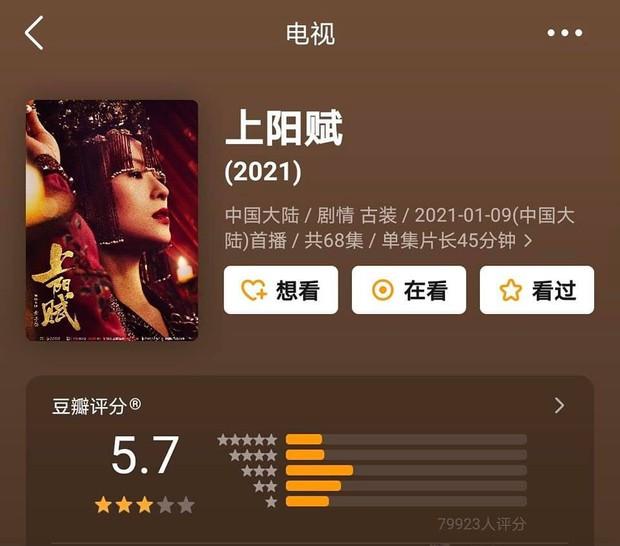 Phim của Triệu Lệ Dĩnh, Địch Lệ Nhiệt Ba cùng gần chục dự án cổ trang xứ Trung có xếp hạng lẹt đẹt - Ảnh 4.