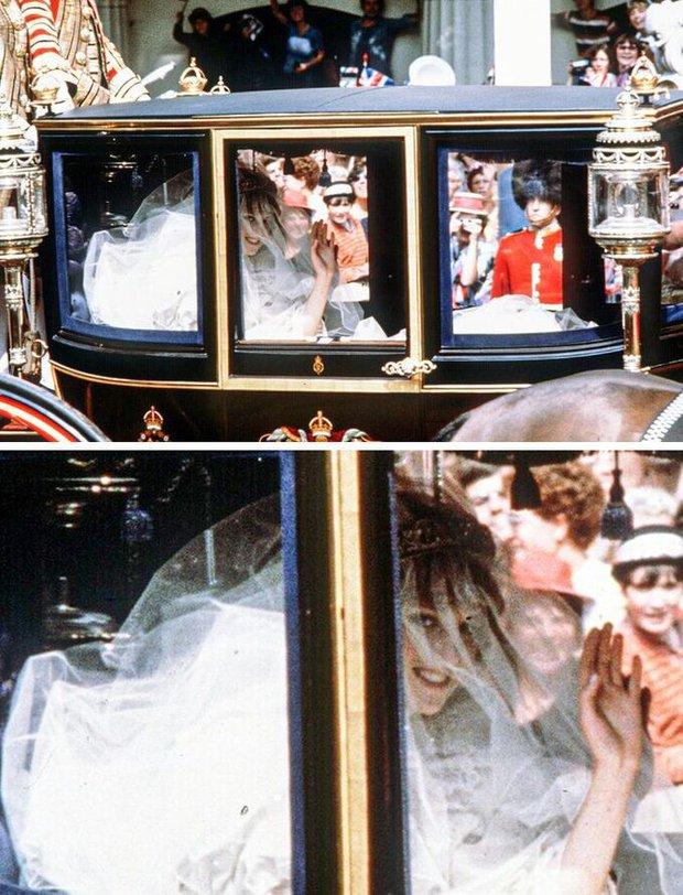 Loạt bí mật ít ai biết phía sau đám cưới của Hoàng gia Anh, đặc biệt là sự cố chỉ muốn giấu nhẹm đi với váy cưới của Công nương Diana - Ảnh 5.